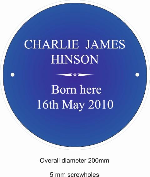 Jigsaw plaque (Small)